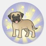 Little Star Mastiff / Bullmastiff Stickers