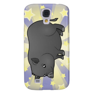 Little Star Miniature Pig Galaxy S4 Case