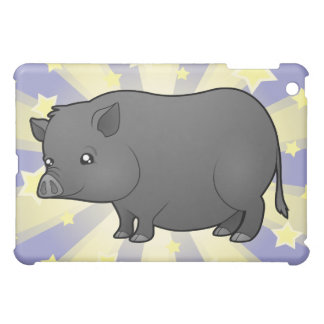 Little Star Miniature Pig iPad Mini Covers