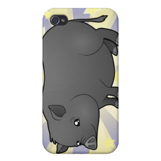 Little Star Miniature Pig iPhone 4/4S Covers