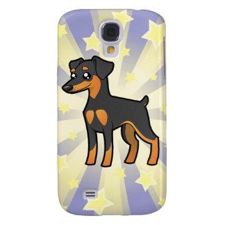 Little Star Miniature Pinscher /Manchester Terrier Galaxy S4 Case