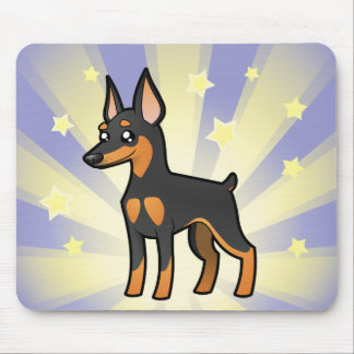 Little Star Miniature Pinscher /Manchester Terrier Mouse Mat