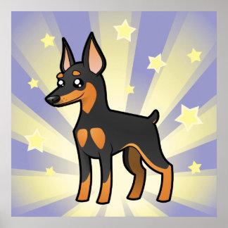 Little Star Miniature Pinscher /Manchester Terrier Poster