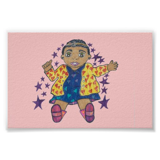 Little Star/Mylei twinkles and soars Print