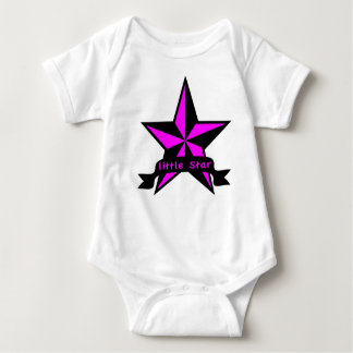 Little Star Nautical Punk Design Baby Bodysuit