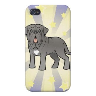 Little Star Neapolitan Mastiff iPhone 4 Case