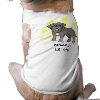 Little Star Neapolitan Mastiff Sleeveless Dog Shirt