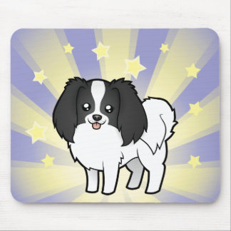 Little Star Phalene / Japanese Chin Mouse Pad