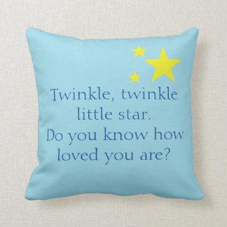 Little Star Pillow Blue