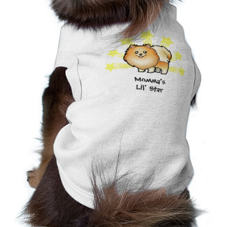Little Star Pomeranian Sleeveless Dog Shirt