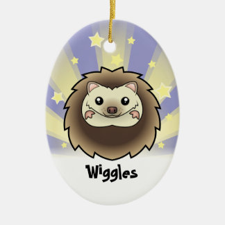 Little Star Pygmy Hedgehog Christmas Ornament