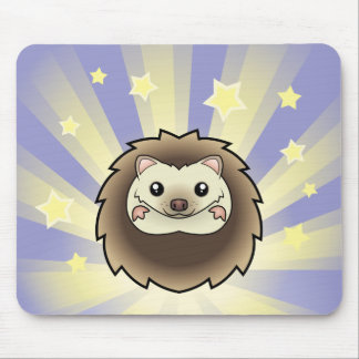 Little Star Pygmy Hedgehog Mouse Pads
