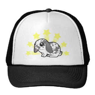 Little Star Rabbit (floppy ear smooth hair) Cap
