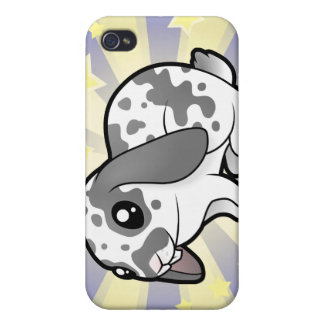 Little Star Rabbit (floppy ear smooth hair) Case For The iPhone 4