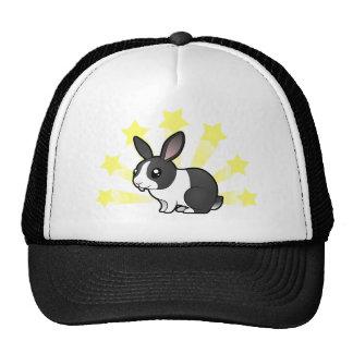 Little Star Rabbit (uppy ear smooth hair) Cap