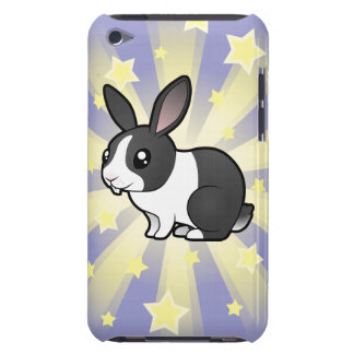 Little Star Rabbit (uppy ear smooth hair) iPod Touch Covers