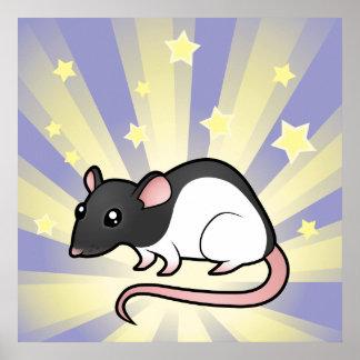 Little Star Rat Poster