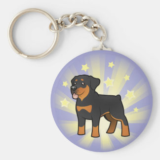 Little Star Rottweiler Key Ring