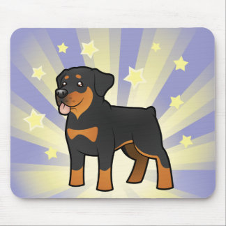 Little Star Rottweiler Mouse Mat