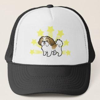 Little Star Shih Tzu (puppy cut) Trucker Hat