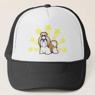 Little Star Shih Tzu (show cut) Trucker Hat