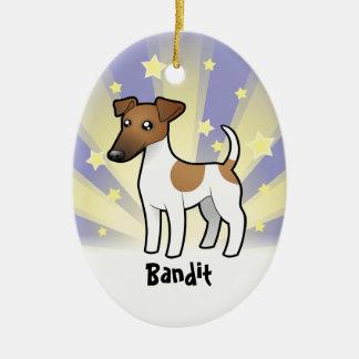 Little Star Smooth Fox Terrier Christmas Ornament