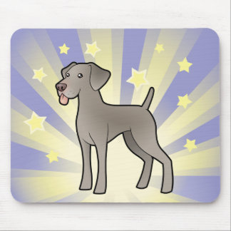 Little Star Weimaraner Mouse Mat