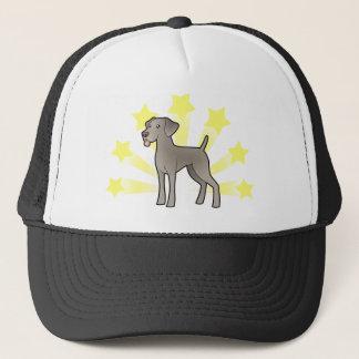 Little Star Weimaraner Trucker Hat