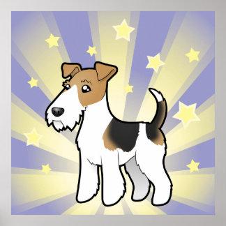 Little Star Wire Fox Terrier Poster