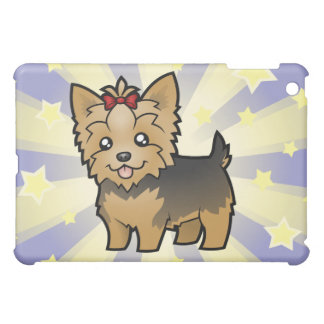 Little Star Yorkshire Terrier (short hair & bow) iPad Mini Cases