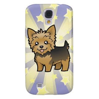 Little Star Yorkshire Terrier (short hair no bow) Galaxy S4 Case