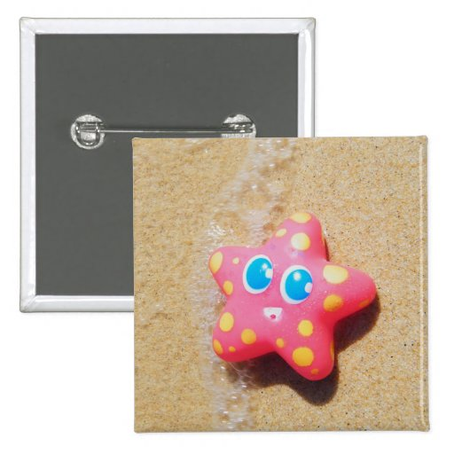 Little Starfish Pinback Button