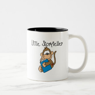 Little Storyteller Tshirts and Gifts Two-Tone Coffee Mug