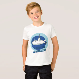 little submarine cartoon style illustration T-Shirt