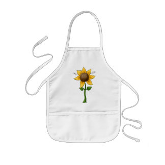 Little Sunflower Kids Apron