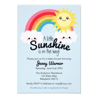 Little Sunshine Baby Shower invitation