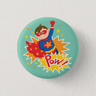 Little Superhero 3 Cm Round Badge