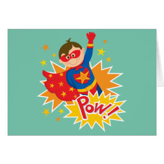Little Superhero Card