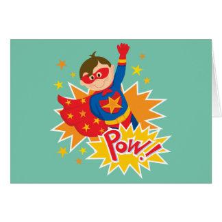 Little Superhero Greeting Card