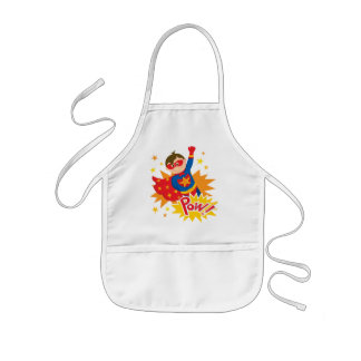 Little Superhero Kids Apron