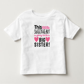 Little Sweetheart Pregnancy Announcement T-Shirt