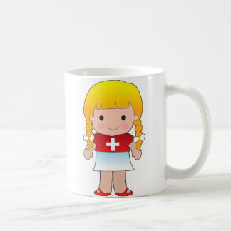 Little Swiss Girl Coffee Mug