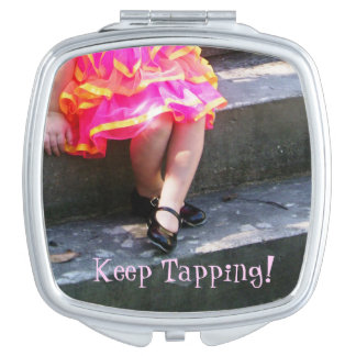 Little Tap Dancer Travel Mirror