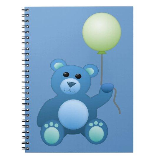 Little Teddy Bear Spiral Notebook