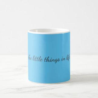 Little Things Basic White Mug