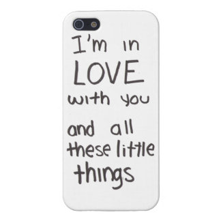 Little things lyrics case iPhone 5 covers