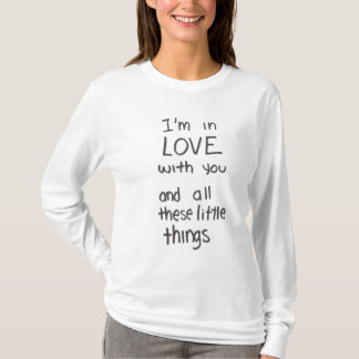 Little things lyrics shirt