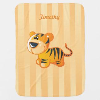 Little Tiger Baby Blanket