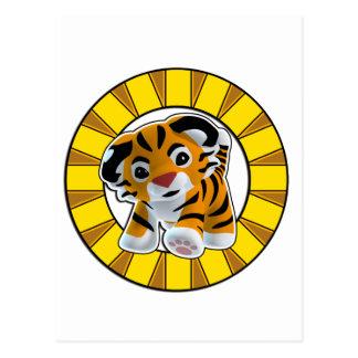 Little Tiger Postcard