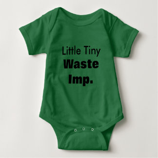 Little Tiny Waste Imp Baby Romper Baby Bodysuit